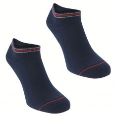 Tommy Hilfiger Icon 2 Pack Trainer Socks