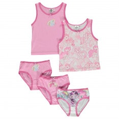 Character 5 Pack Vest and Brief Set Infant