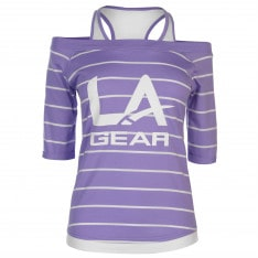 LA Gear Mock Layer T Shirt Ladies