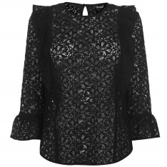Golddigga Lace Blouse Ladies