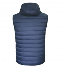 Lee Cooper Down Hooded Gilet Mens