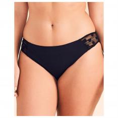 Figleaves Icon Spot Mesh Classic Bikini Brief