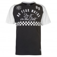 No Fear Custom Motox Detail T Shirt Mens