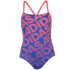 Adidas All Over Print Swimsuit Ladies