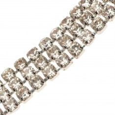 Golddigga Diamante Choker Ladies