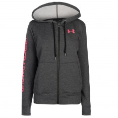 Under Armour Logo Fleece Zip Hoodie Ladies