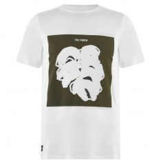Native Youth Leaf Graphic Print T-Shirt