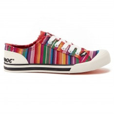 Rocket Dog Jazzin Ladies Canvas Trainers