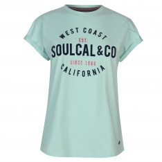 SoulCal Logo T Shirt Ladies