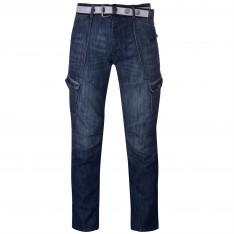 Airwalk Belted Cargo Jeans Mens