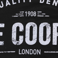Lee Cooper Large Logo Print T Shirt Mens