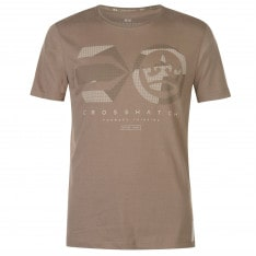 Crosshatch Dotcam T Shirt Mens