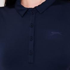 Slazenger Plain Polo Shirt Ladies