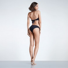 Firetrap Blackseal Laced Front Bikini Bottoms