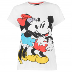 Character Short Sleeve T Shirt Ladies