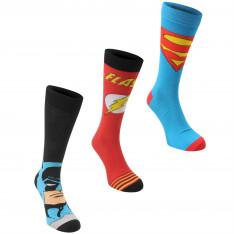 DC Comics 3 pack Crew Sock Mens