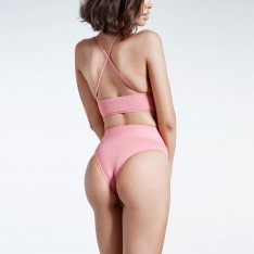 Firetrap Blackseal Long Line Bikini Top