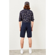 Trendyol Navy blue Male 5 pocket shorts