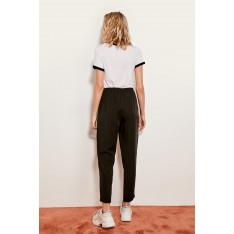 Trendyol Black Lyocell Carrot Pants