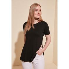 Tricou femei Trendyol Asymmetric Knitting