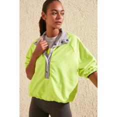 Trendyol Double Sided Neon Detailed Sports Sweatshirt