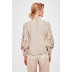 Trendyol Beige Frill Detailed Blouse