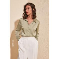 Trendyol Mint Basic Shirt