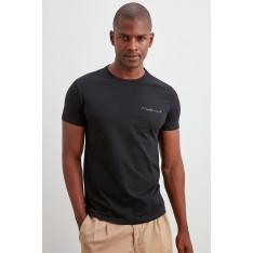 Trendyol Black Men's Basic T-Shirt