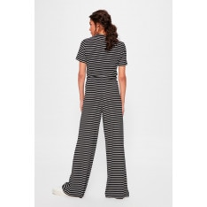 Trendyol Black Striped Knitted Pants