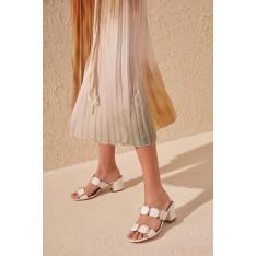 Trendyol White Women's SlippertakS20TE0002