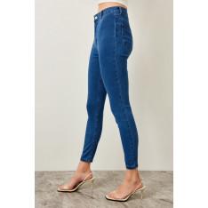 Trendyol Blue High Waist Jegging Jeans