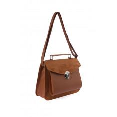 Trendyol Tobacco brown Postman Model Shoulder Bag