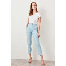 Trendyol Blue Basic Pants