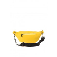 Trendyol Yellow chain detailed waist bag
