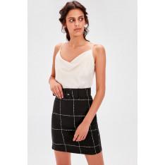 Trendyol Black Belt Detailed Skirt
