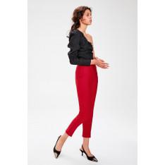 Trendyol Burgundy Basic Pants