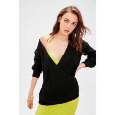 Trendyol Black Cruiser Knitwear Sweater