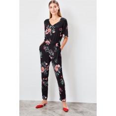 Trendyol Black Patterned jumpsuit