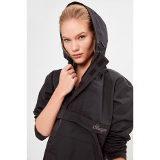 Trendyol Black Kangaroo Pocket Sports Apron