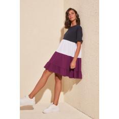 Γυναικείο φόρεμα Trendyol Pucker Detailed Knitting