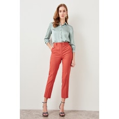 Trendyol Pomegranate Flower Basic Pants