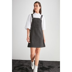 Trendyol Anthracite Jile Dress