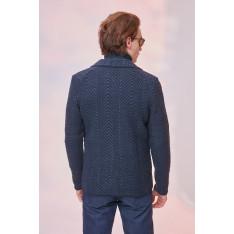Trendyol Indigo Men's Pocket Cardigan