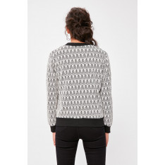 Trendyol Multicolored Patterned Knitted Jacket