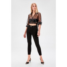 Trendyol Black High Waist Skinny Jeans
