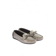Trendyol Platinum Bow Women's Loafer Shoes