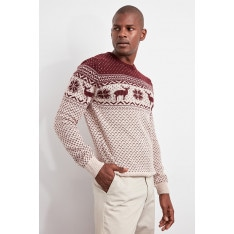 Trendyol Men's Bicycle Collar Knitwear Sweater