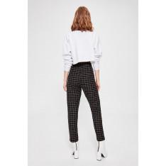 Trendyol Black Checkered Pants
