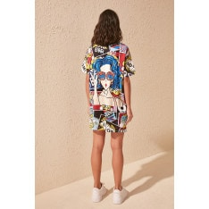 Women's dress Trendyol Multicolored