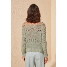 Trendyol Green Shutter Knitwear Sweater